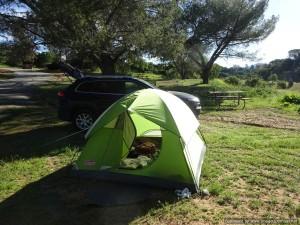 Last of LA, Ojai, Camping at Lake Casitas and Santa Barbara